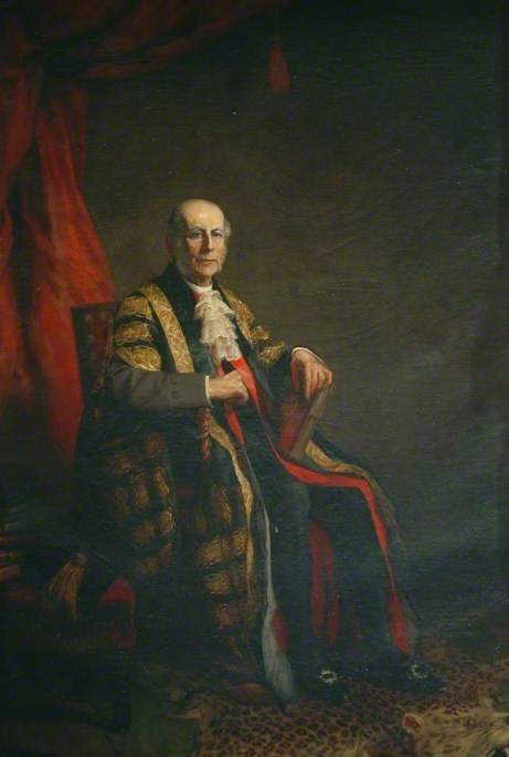Dr George William Kitchin (1827–1912), Oil On Canvas by John William Schofield