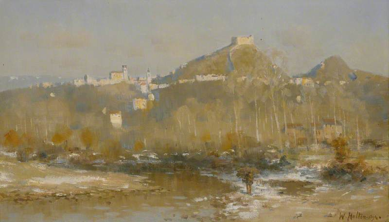 View of Asolo, 1894 by William Stokes Hulton | Reproductions William Stokes Hulton | WahooArt.com