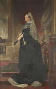 William George Tennick - Queen Victoria (after Heinrich von Angeli)