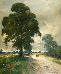 John Muirhead - The Road to St Ives