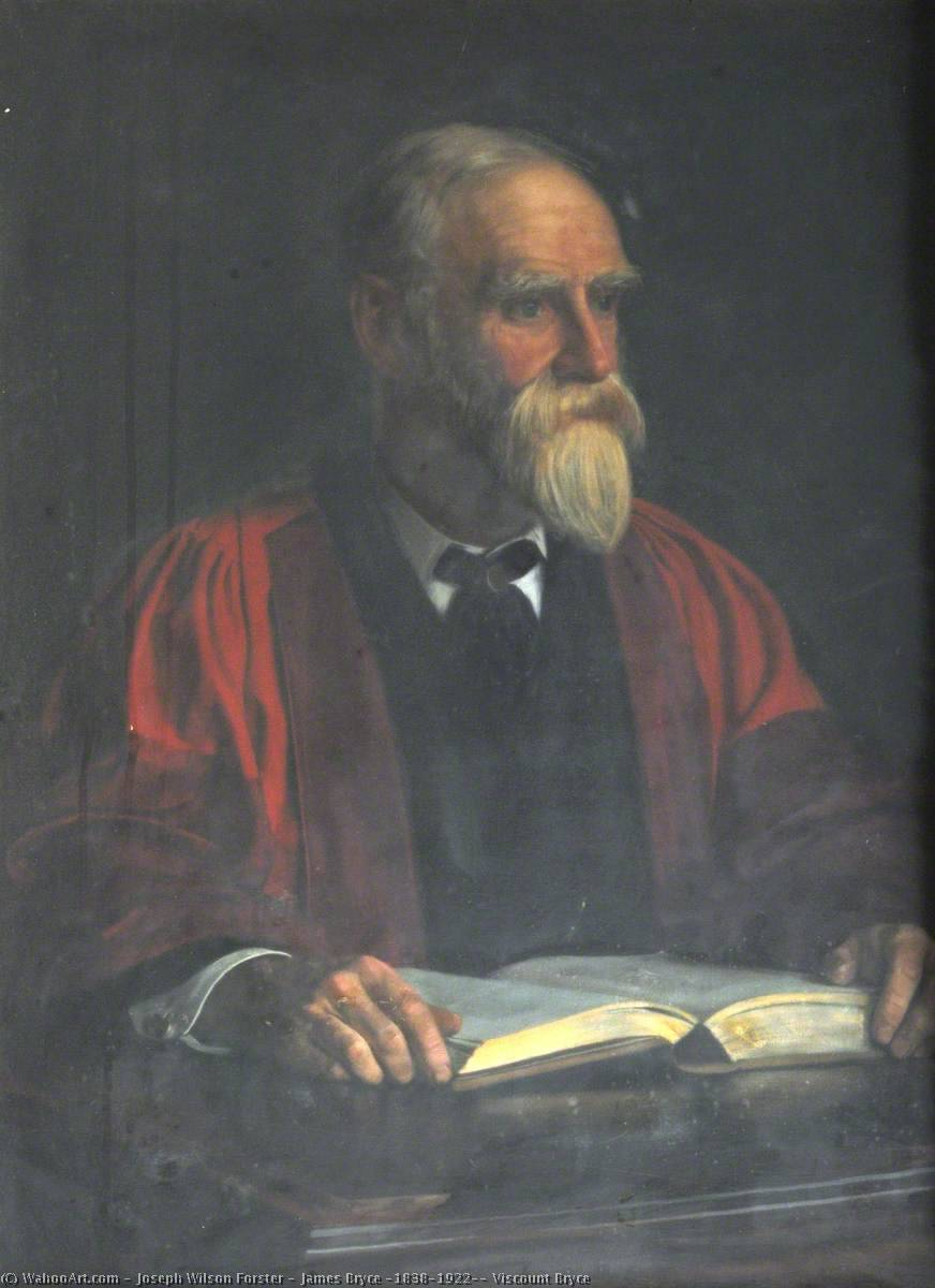 James Bryce (1838–1922), Viscount Bryce, 1899 by Joseph Wilson Forster | Oil Painting | WahooArt.com