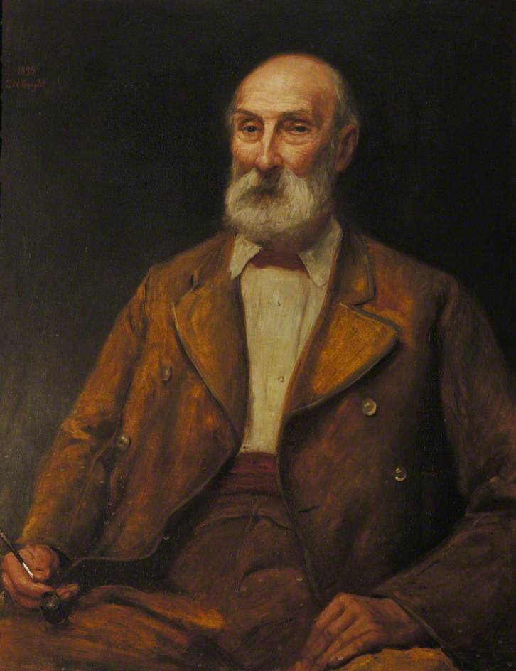 Charles Lempriere, 1898 by Charles Neil Knight | Paintings Reproductions Charles Neil Knight | WahooArt.com