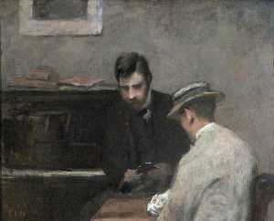 Charles Neil Knight - A Conversation Piece