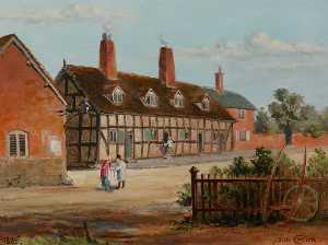 John Cotton - Old Almshouses, Bromsgrove, Worcestershire