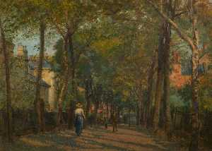George W Moore Henton - The New Walk, Leicester