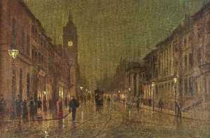 Daniel Whiteley Marshall - Fawcett Street, Sunderland about 1895