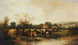 William George Meadows - Rural Scenery