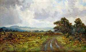 Thomas J Yarwood - Landscape with a Path