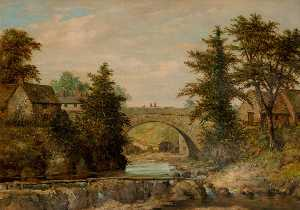 William R Stone - Rhayader Bridge