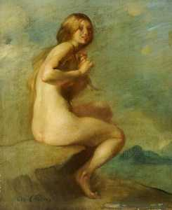 Order Oil Painting : Nude by Cecil William Rea | WahooArt.com