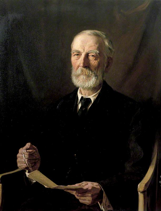 Donald James Mackay (1839–1921), KT, FBA, Lord Reay, Oil On Canvas by Anton Abraham Van Anrooy