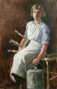 Ruth Simpson - The Milkmaid