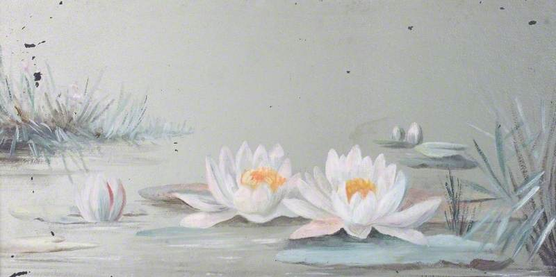 Water Lilies, 1905 by Constance Dutton Thompson | Paintings Reproductions Constance Dutton Thompson | WahooArt.com