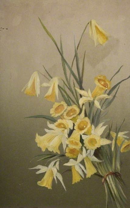 Daffodils by Constance Dutton Thompson | Reproductions Constance Dutton Thompson | WahooArt.com