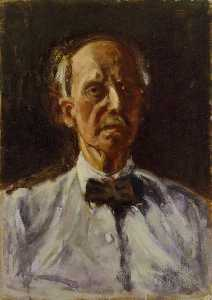 Dugald Sutherland Maccoll - Self portrait