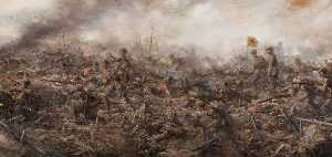 Joseph Gray - 7th Camerons at the Battle of Loos, Hill 70, 25 September 1915