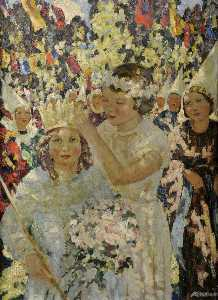 Margaret Isobel Wright - The May Queen