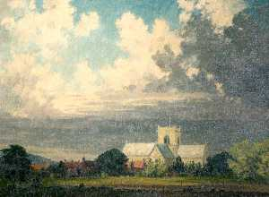Clive Richard Browne - St Mary-s Church, Stow, Lincolnshire