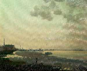 Order Reproductions | Low Tide on the Humber by Clive Richard Browne | WahooArt.com