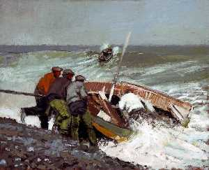 George Anthony Butler - Fishermen, North East Coast