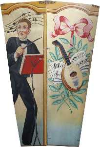 Sid Farmer - Scott-s -Wonder Waltzers- Conductor and Mandolin (shutter, two panels)