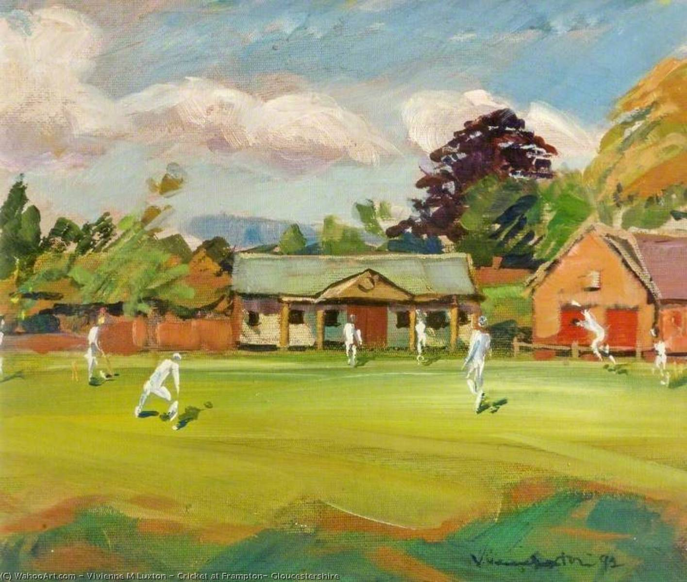 Cricket at Frampton, Gloucestershire, Paper by Vivienne M Luxton