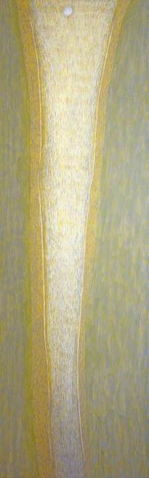 Bardo, Yellow, Canvas by Antoni Malinowski
