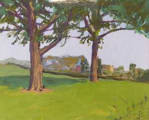 Peter Fleming - Trees and Huts