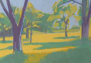 Peter Fleming - Large Orchard (1)