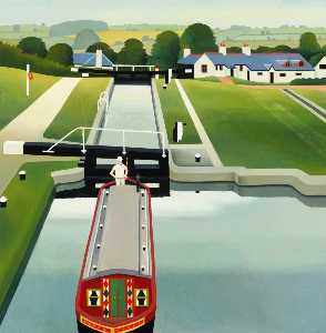 Reg Cartwright - Canal Boat