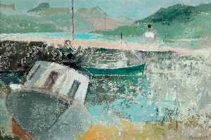 David Reeve Fowkes - Boats at Ullapool