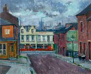 Kenneth Cozens - The -Ship Inn-, Middlesbrough, Tees Valley