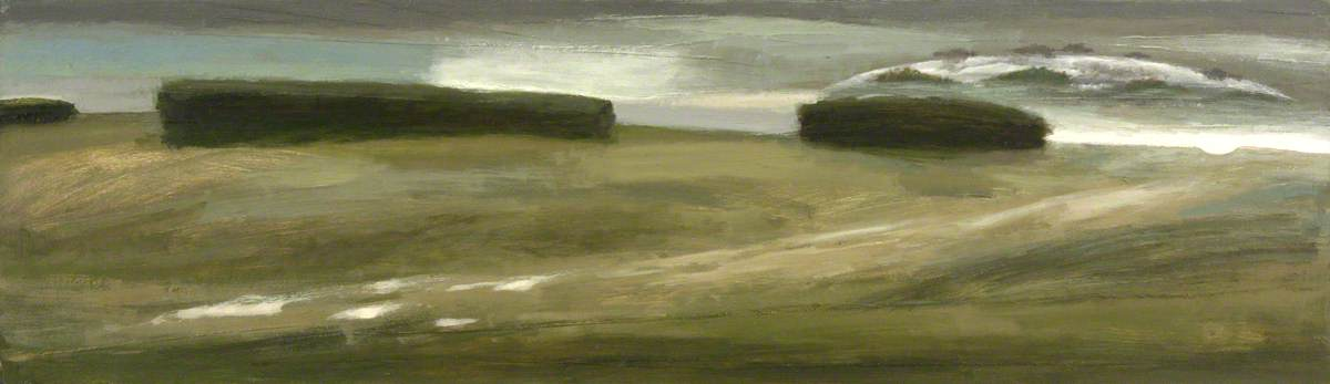 A Footpath to Nowhere, 2004 by Alistair Crawford | Painting Copy | WahooArt.com