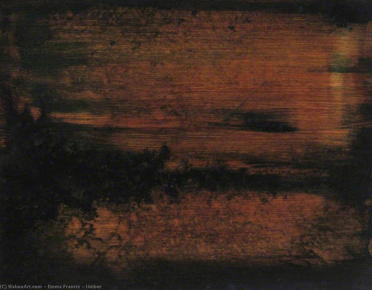 Umber, 2004 by Emma Francis | Famous Paintings Reproductions | WahooArt.com