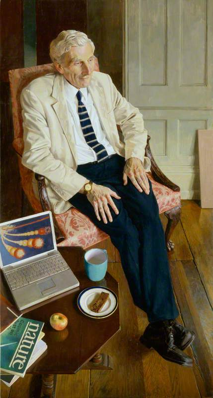 Order Oil Painting : Martin John Rees, Baron Rees of Ludlow, 2008 by Benjamin Sullivan | WahooArt.com