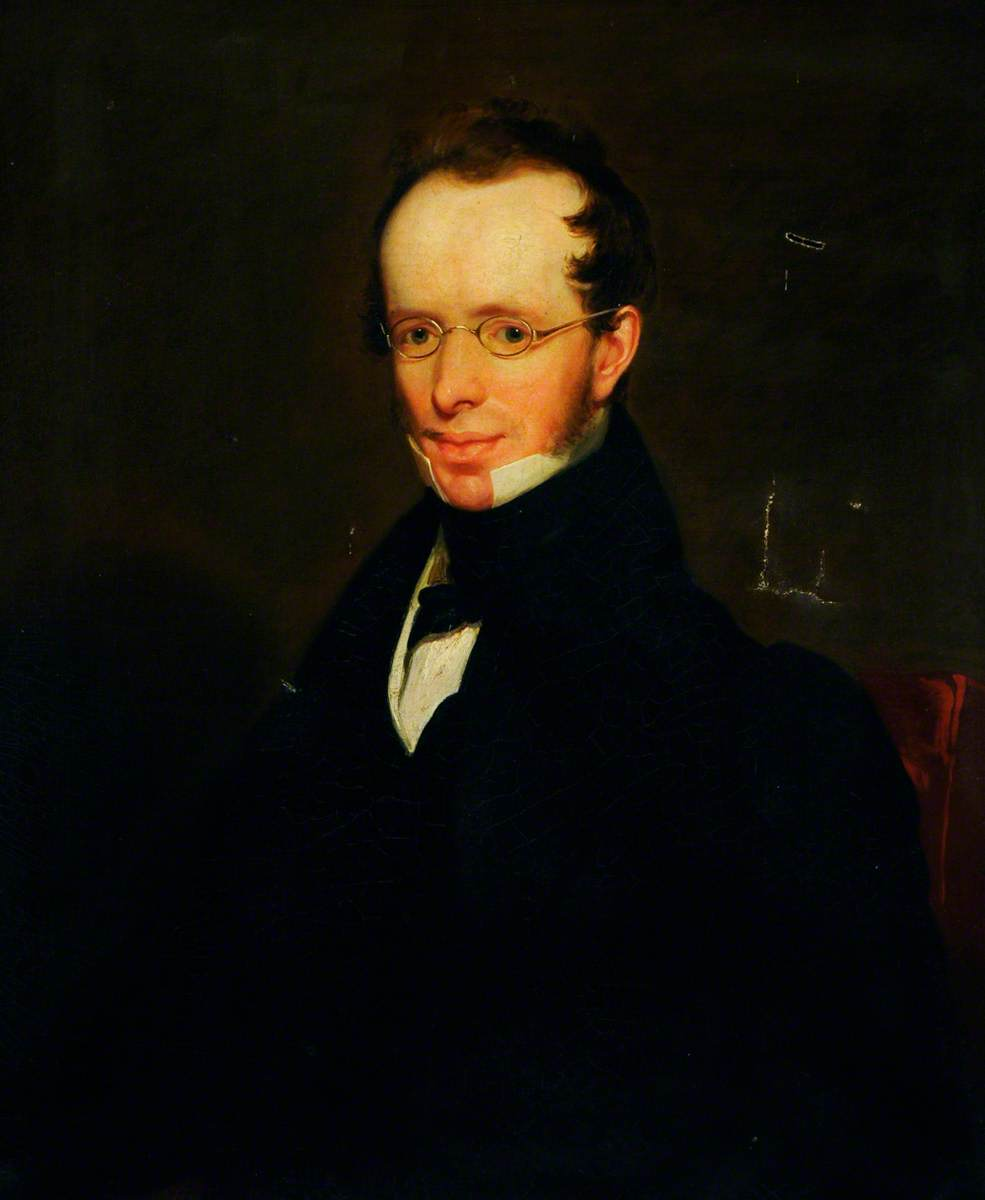 Samuel Bailey (1791–1870), Poet and Philosopher, Oil On Canvas by William Poole