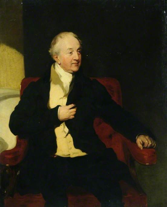 William Wentworth Fitzwilliam (1748–1833), 4th Earl Fitzwilliam, Oil On Canvas by William Poole
