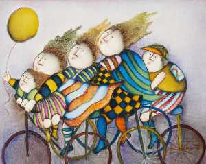 Joyce Roybal - Cyclists