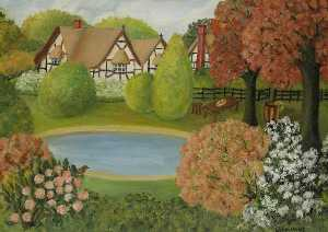 Elsie Sidele Downing - Country House, British Style