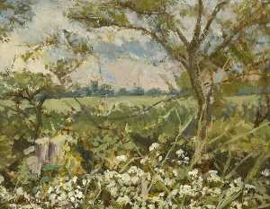 Christopher Glanville - Evening, Bedfield