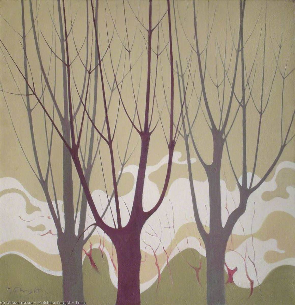 Trees by Madeleine Enright | WahooArt.com