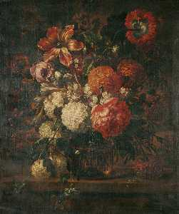 Gaspar Peeter De Verbruggen The Younger - Flower Piece