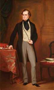 Jane Hawkins - Edward Geoffrey Smith Stanley (1799–1869), 14th Earl of Derby, KG, PC (after Francis Grant)