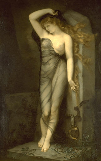 VELLEDA by Voillemot André Charles (1823-1893) | Museum Quality Reproductions | WahooArt.com