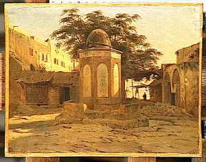 Montfort Antoine Alphonse - ANCIENNE FONTAINE ARABE A BEYROUTH