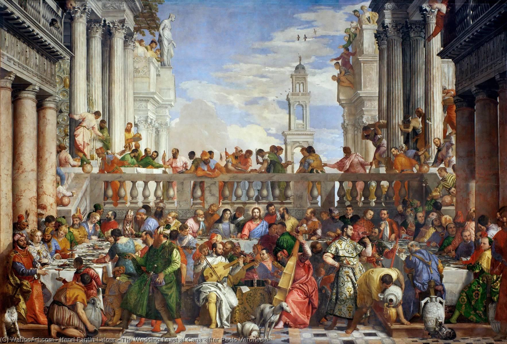 the wedding feast at cana by veronese essay The wedding feast at cana, cana'da düğün, 1565 ressam paolo caliari veronese veronese venedik'in en ünlü ressamıdır cana'da düğün tablosu dünyanın en büyük resimlerinden biridir 6,6 m x 9,9 m ölçülerinde aşağıdaki resmi louvre müzesinde çekmiştim masada dönemin en önemli kralları, kraliçeleri yer alır.