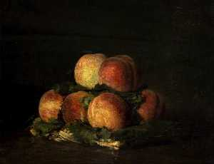 Henri Fantin Latour - Basket of Peaches