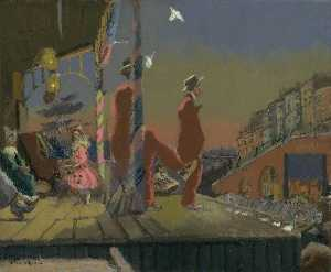 Walter Richard Sickert - Brighton Pierrots