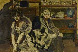 Walter Richard Sickert - The Bar Parlour