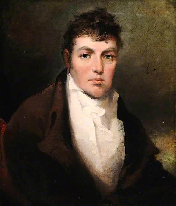 Order Painting Copy : Ebenezer Rhodes by Francis Legatt Chantrey (1782-1841, United Kingdom) | WahooArt.com